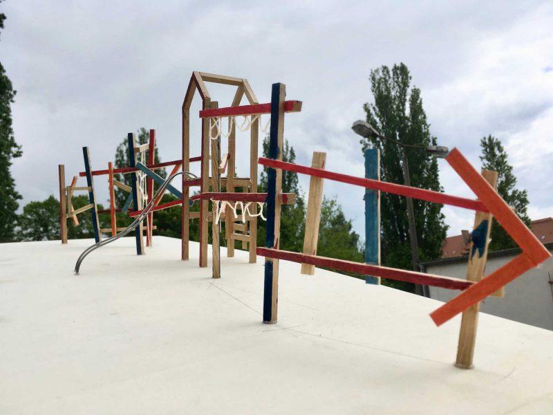 Paul Klee, Spielplatz Berlin, Modell