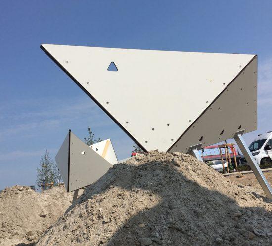 Yachthafen Fehmarn Papierschiffchen Montage