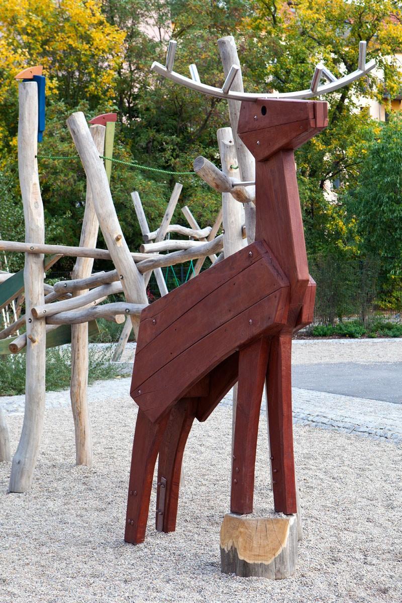 Hirschhof, Spielplatz Berlin Prenzlauer Berg