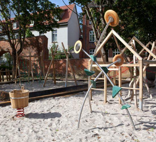 Klettergarten, Spielplatz, Wismar
