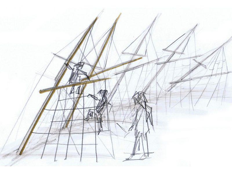 Bootskorso, Kyritz, Entwurf