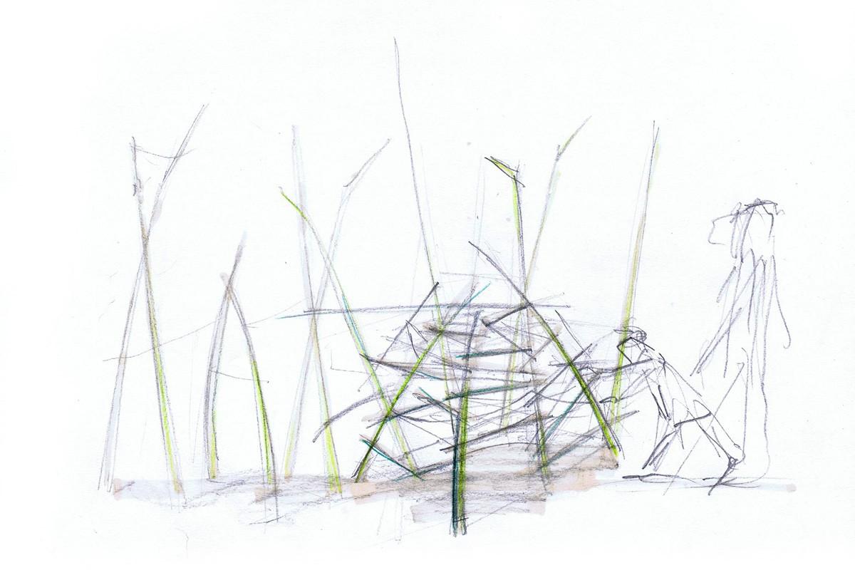 Vom Schatten zum Licht, Landesgartenschau Alzenau (Bayern), Entwurf