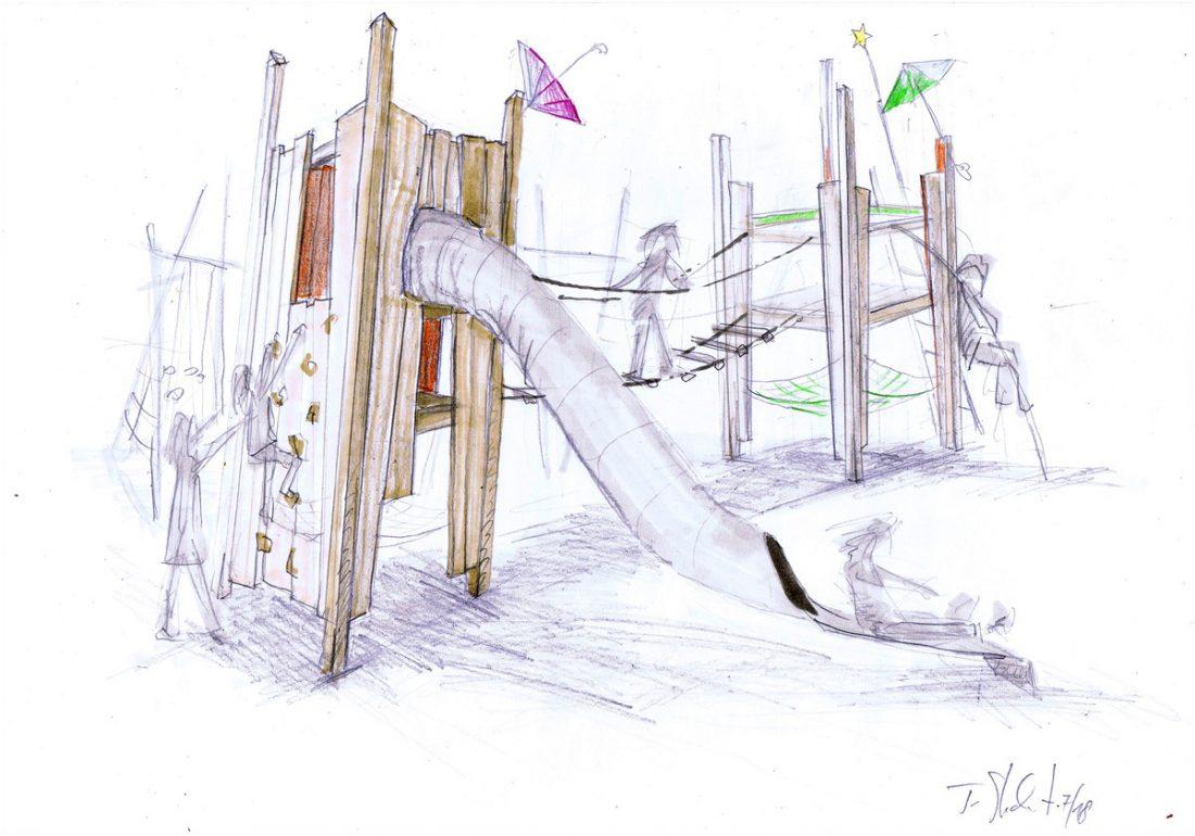 Mary Poppins Grundschule Berlin Spandau, Entwurf Tilman Stachat