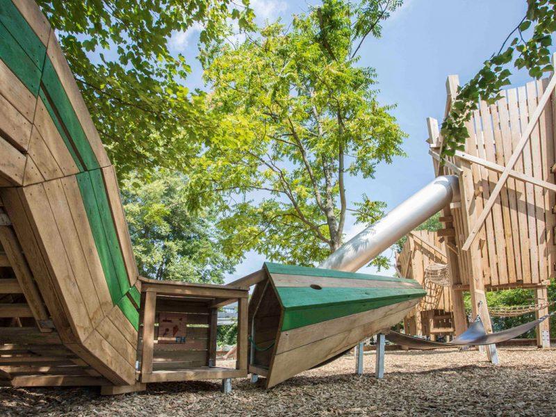 Spielanlage Schiffbauergasse Potsdam
