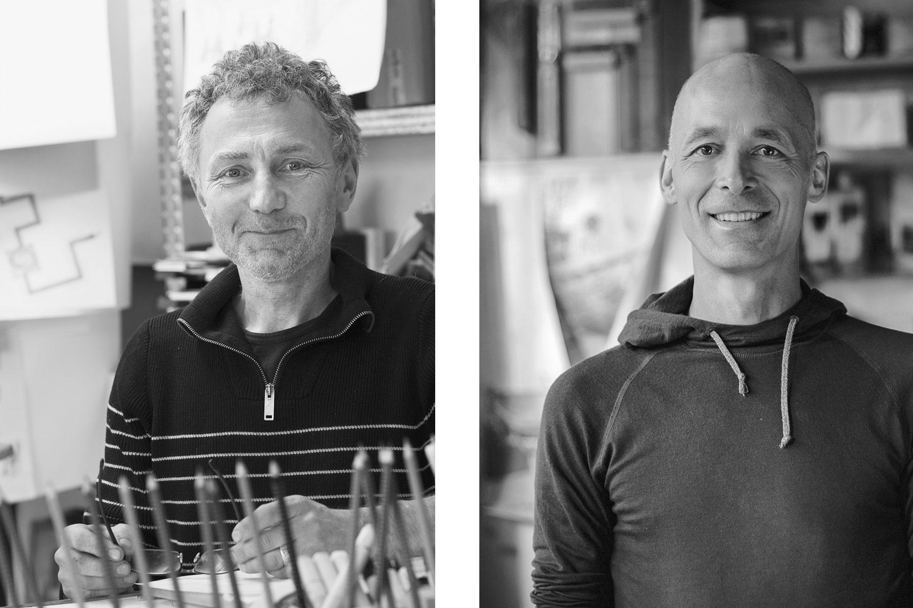 Dipl. Designer Tilman Stachat und Christoph Meusel