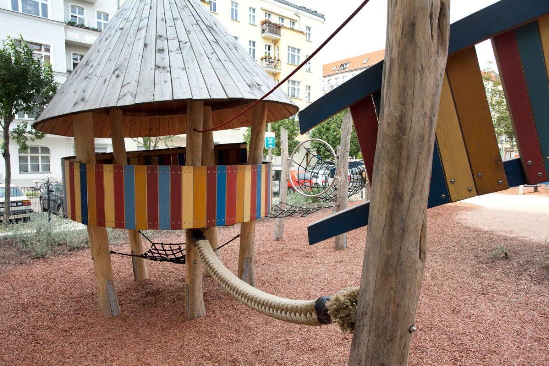 Traumfänger, Spielplatz Berlin Prenzlauer Berg