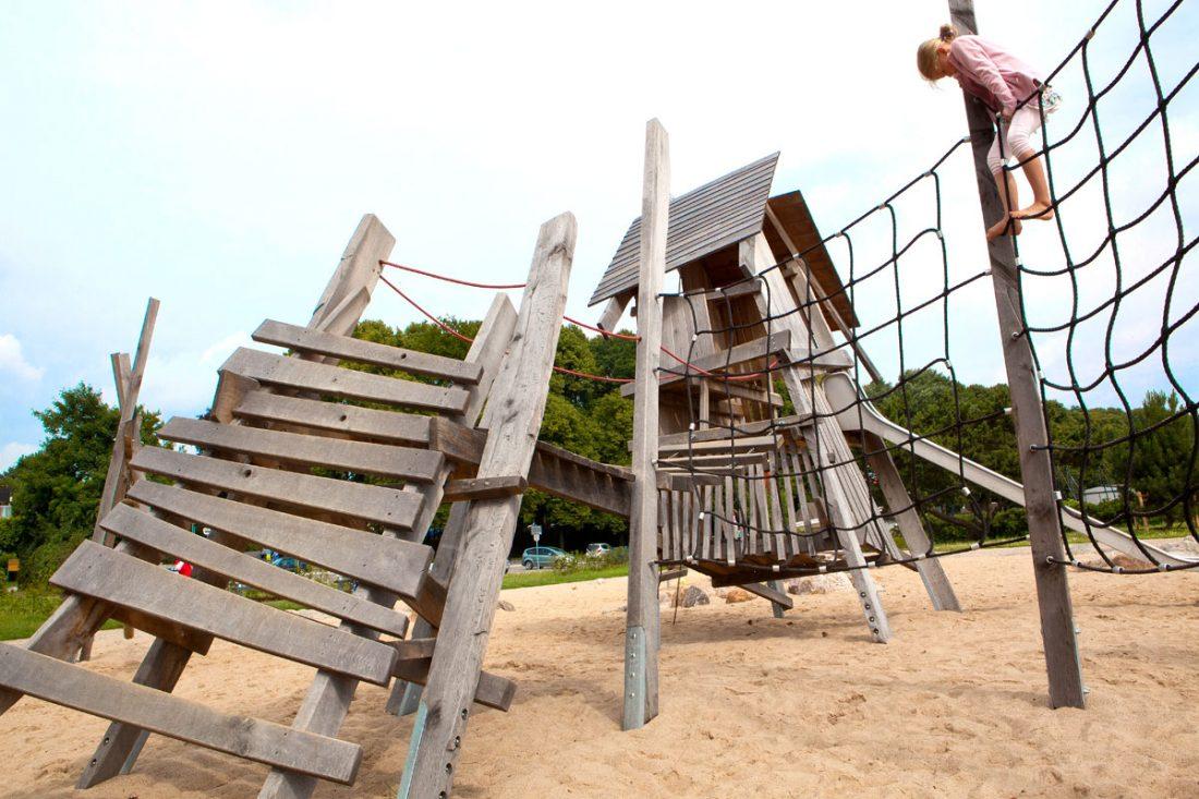 Piraterennest, Spielplatz Travemünde