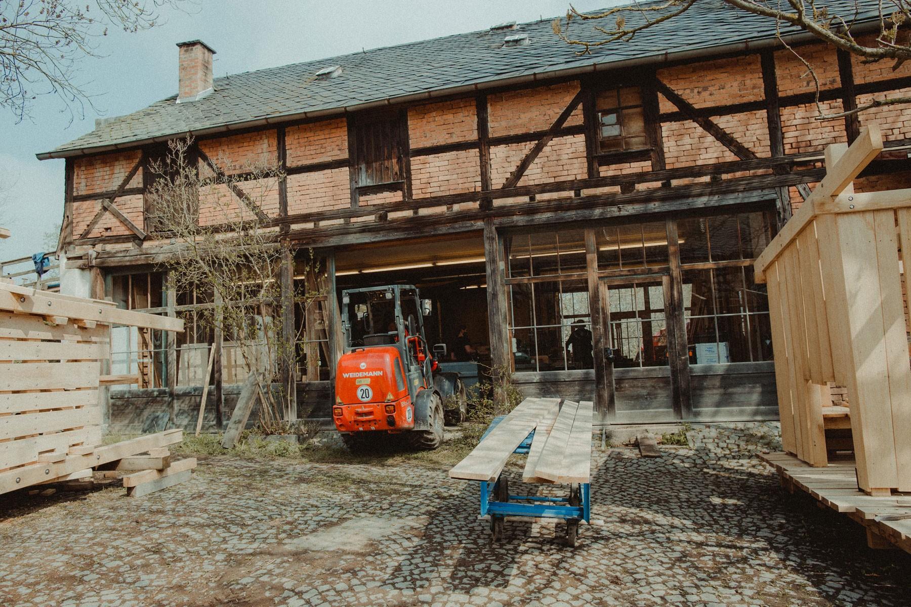 Holzwerkstatt, Fotografie Kristin Lehmann