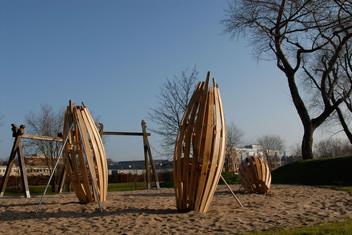 Wikinger, Spielplatz, Landesgartenschau Schleswig